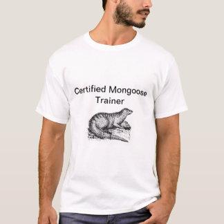 Instructor certificado de la mangosta playera