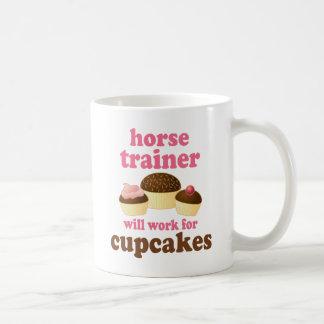 Instructor de caballo divertido taza de café