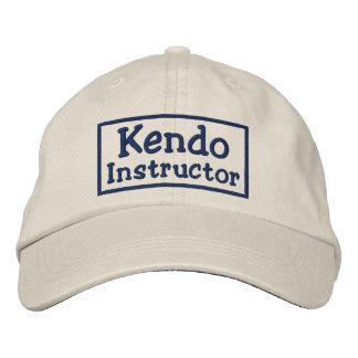 Instructor de Kendo Gorro Bordado