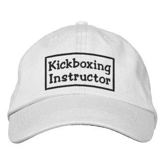 Instructor de Kickboxing Gorras De Beisbol Bordadas