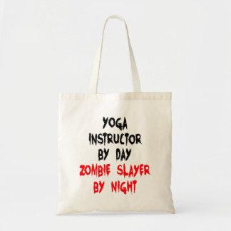 Instructor de la yoga del asesino del zombi bolsa tela barata