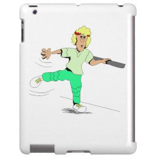Instructor de los aeróbicos funda para iPad