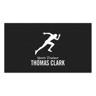 Instructor de los deportes del esprinter el | tarjetas de visita