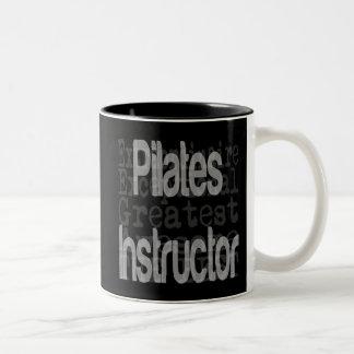 Instructor de Pilates Extraordinaire Taza De Dos Tonos