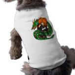 Instructor del dragón ropa de perros
