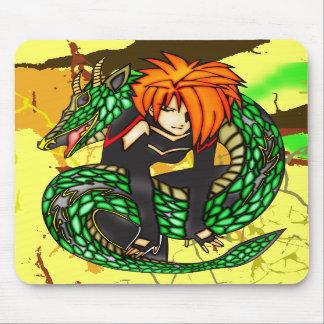 Instructor del dragón tapetes de raton