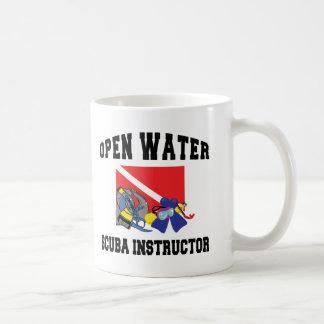 Instructor del EQUIPO DE SUBMARINISMO del agua abi Taza De Café