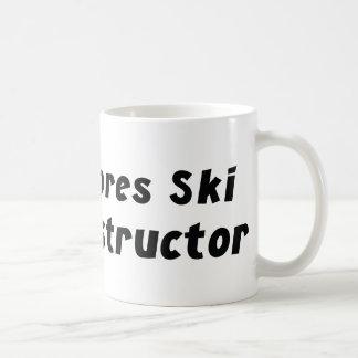 Instructor del esquí de Apres Taza De Café