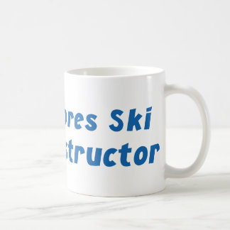 Instructor del esquí de Apres Tazas De Café