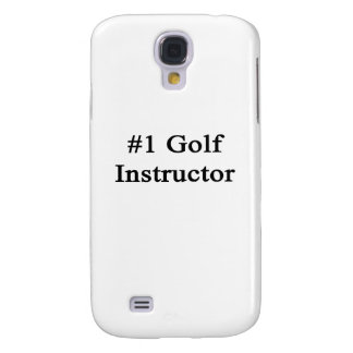 Instructor del golf del número 1 funda para galaxy s4