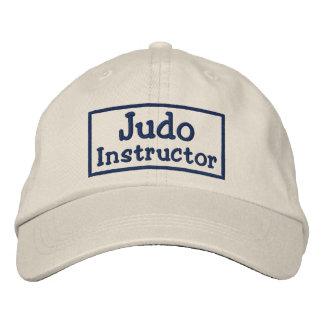Instructor del judo gorra de beisbol