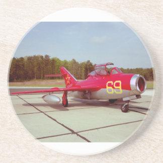 Instructor del MiG Posavasos Personalizados