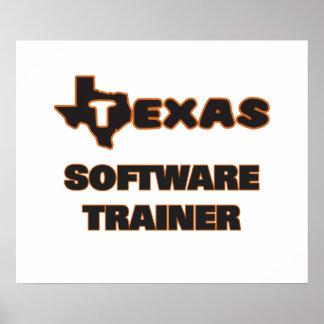 Instructor del software de Tejas Póster