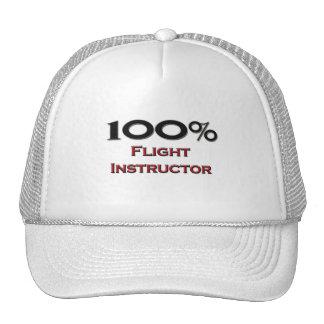 Instructor del vuelo del 100 por ciento gorra