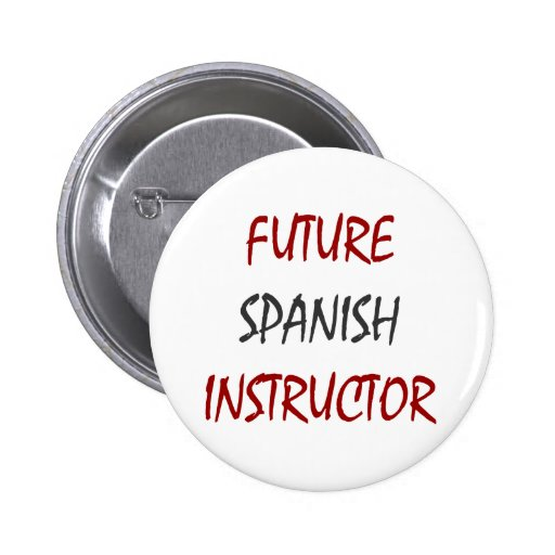 Instructor español futuro pin