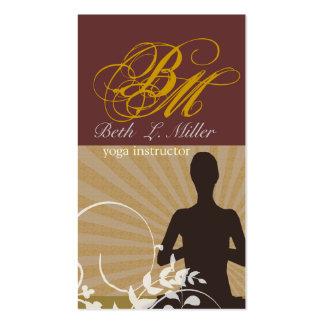 Instructor espiritual de la yoga de la meditación