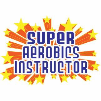 Instructor estupendo de los aeróbicos escultura fotográfica