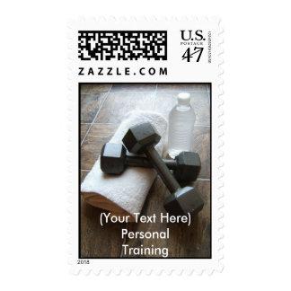 Instructor o toalla y agua personal de Dumbells de Sellos