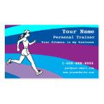 Instructor personal adaptable tarjetas de negocios