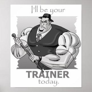 Instructor personal - estilo incondicional - póster