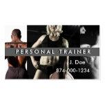 Instructor personal plantilla de tarjeta personal
