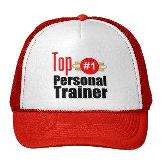 Instructor personal superior gorras