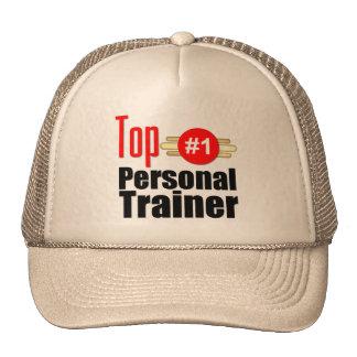 Instructor personal superior gorros bordados