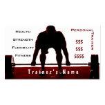 Instructor personal plantillas de tarjeta de negocio