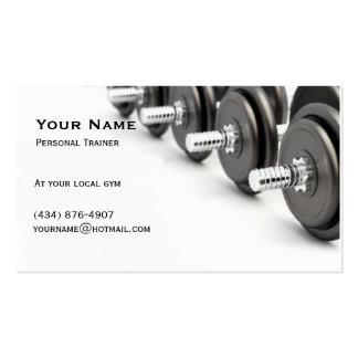 Instructor personal tarjeta de negocio