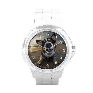 Instructor romántico reloj de mano