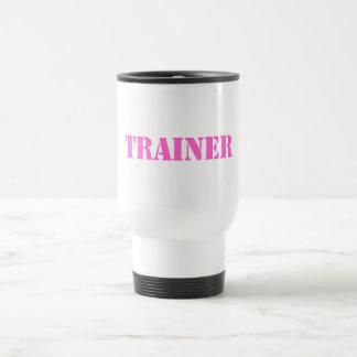 Instructor (rosa) taza térmica