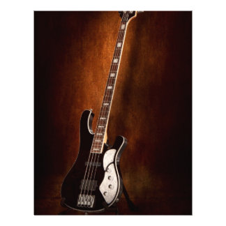 """Instrument - Guitar - High strung 8.5"""" X 11"""" Flyer"""