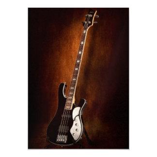 "Instrument - Guitar - High strung 5"" X 7"" Invitation Card"