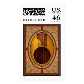 Instrument - Guitar - Let s play some music Stamps