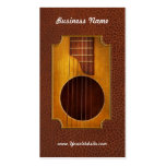 Instrument - Guitar - Let's play some music Business Cards