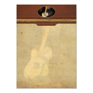 Instrument - Guitar - Playing in a band Personalized Announcement