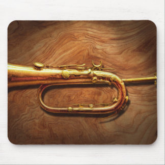Instrument - Horn - Reveille and Rouse Mouse Pad