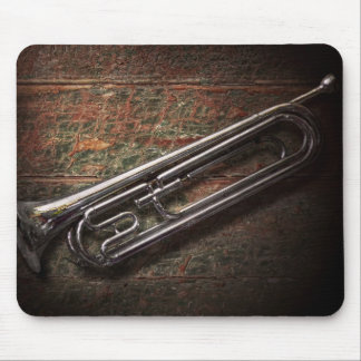 Instrument - Horn - The bugle Mouse Pad
