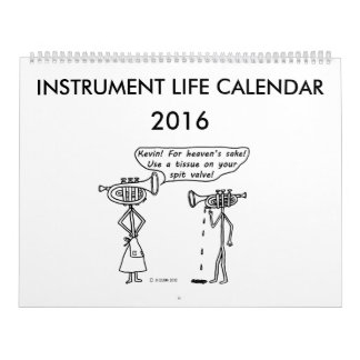 Instrument Life Calendar 2016
