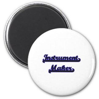 Instrument Maker Classic Job Design 2 Inch Round Magnet