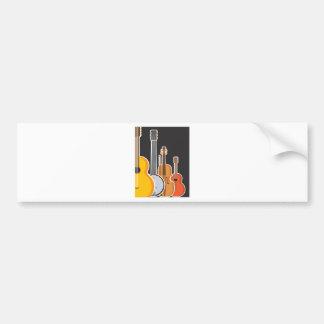 Instrument Medley Bumper Sticker