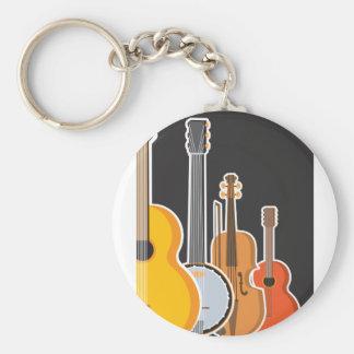 Instrument Medley Keychain