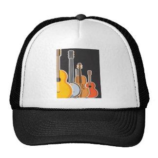 Instrument Medley Mesh Hats