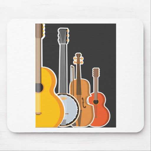 Instrument Medley Mouse Pad