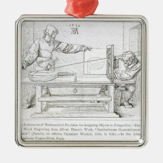 Instrument of Mathematical Precision Metal Ornament