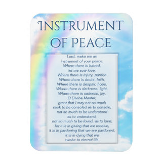 Instrument of Peace Magnet