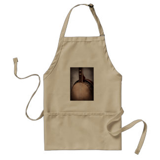 Instrument - String - A typical banjo Adult Apron