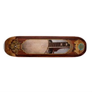 Instrument - String - A typical banjo Skateboard Deck