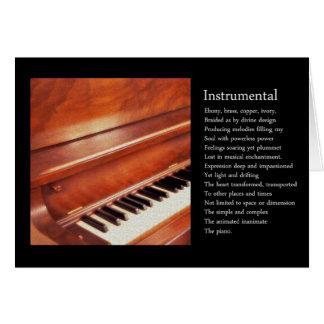 Instrumental Greeting Card