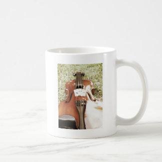Instrumental Violin Products Classic White Coffee Mug